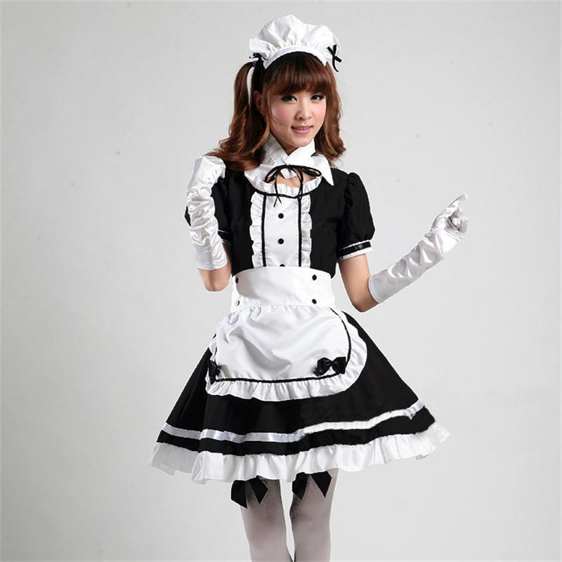 maid outfit girl in Anime