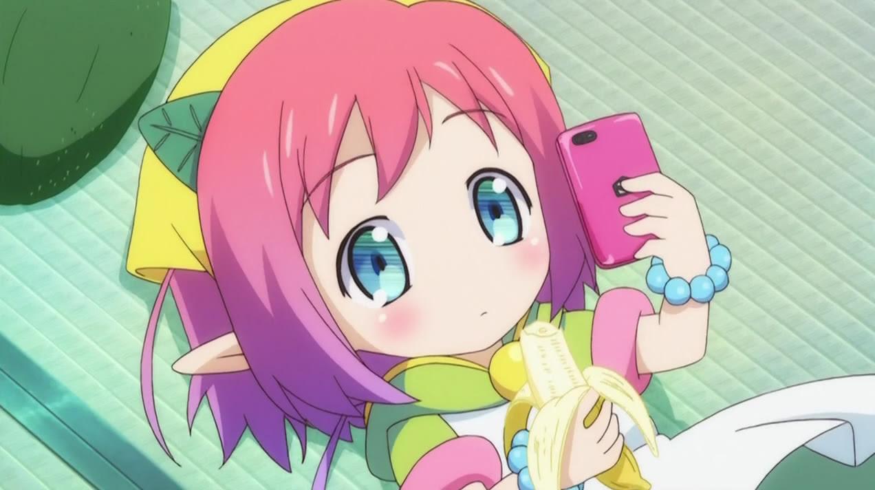 anime girl Banana