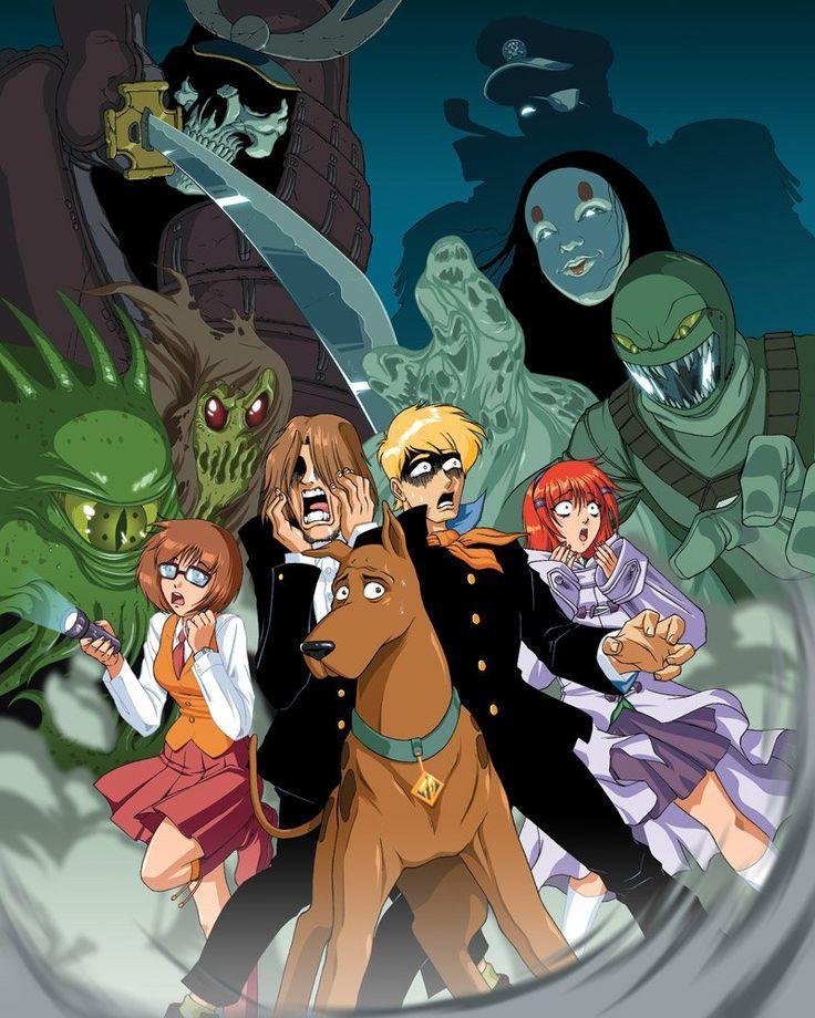 Scooby doo anime version