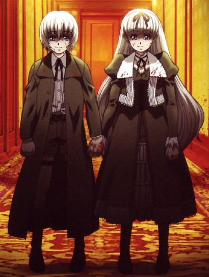 anime twins Creepy
