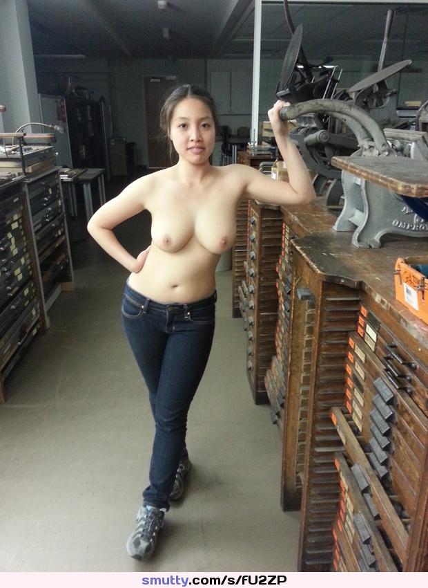 Teen topless pic