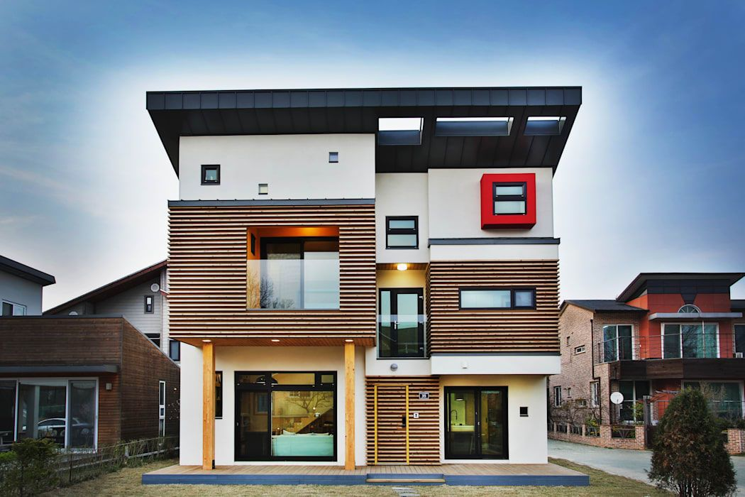 style design Asian house