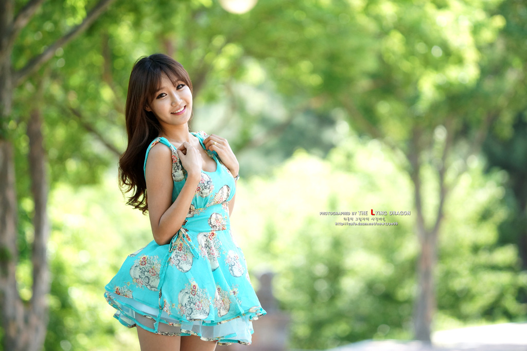 North korean teenage girl