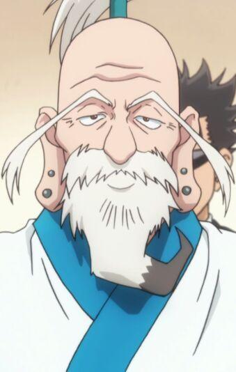 Anime old man fuck