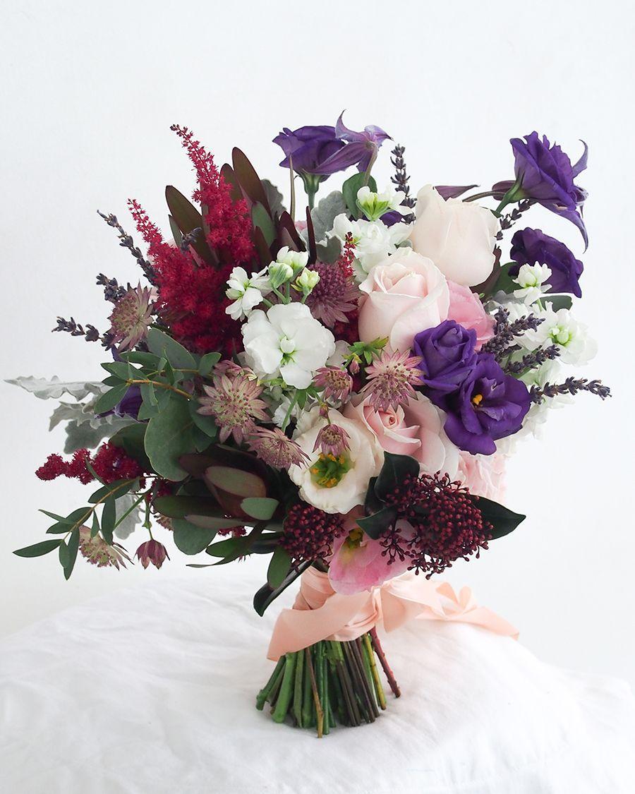 arrangement floral Asian wedding