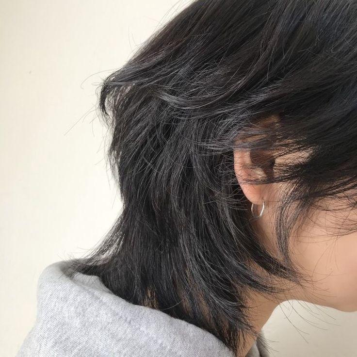asian hair Secretary curly long