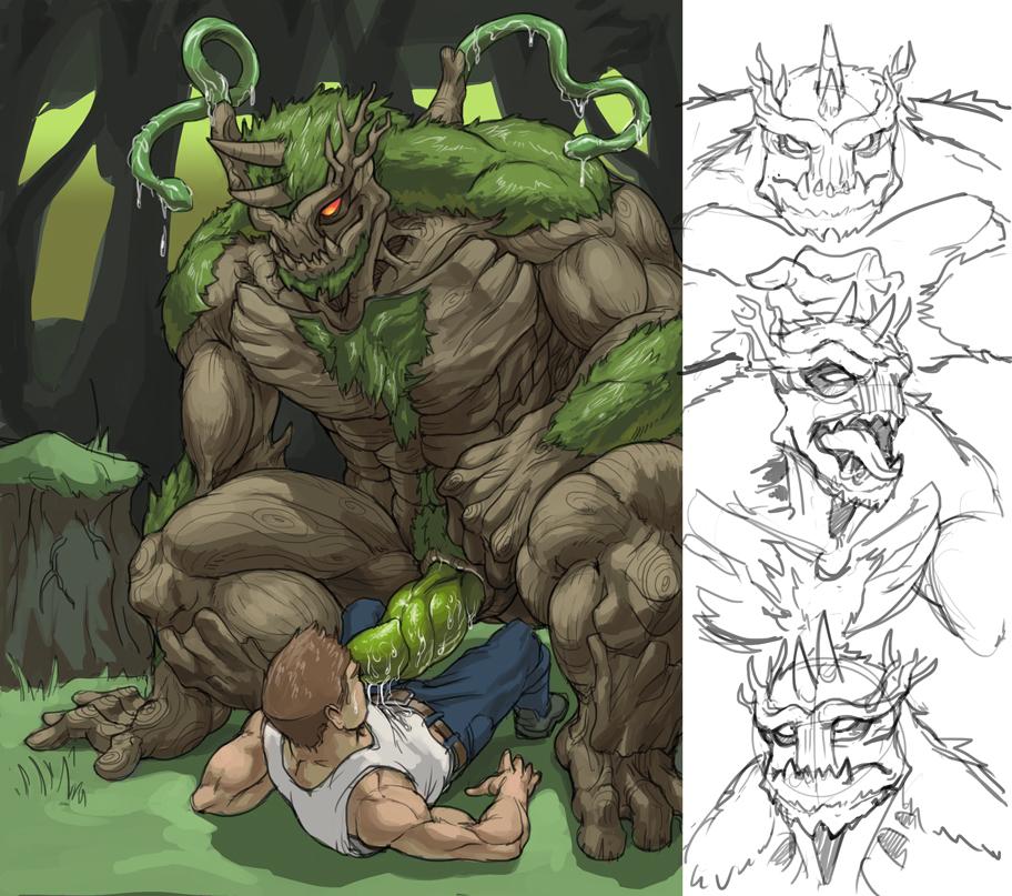 monster porn Gay anime