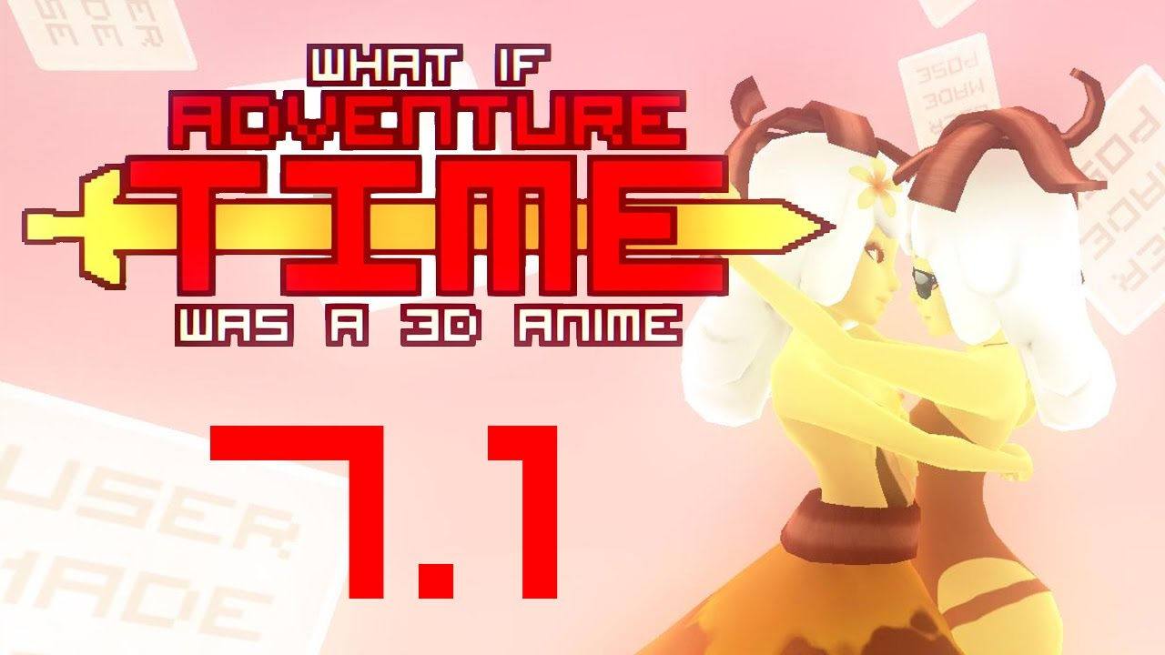 a game What anime time 3d was guide adventure if