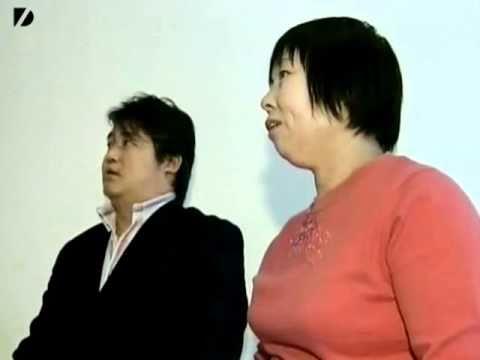 guy in Asian bathroom singing