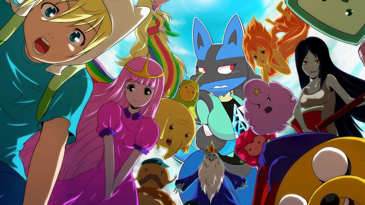 adventure time an If anime was