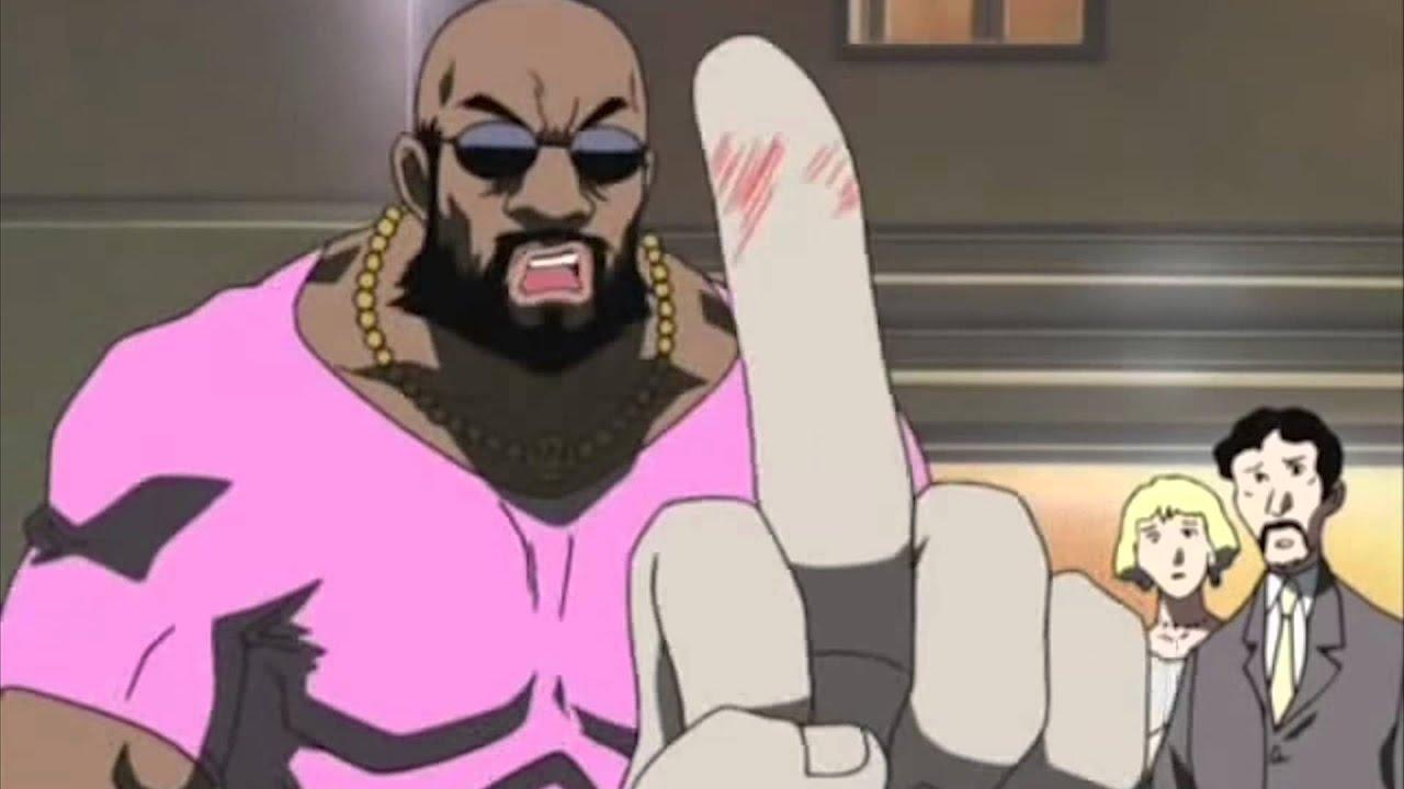 guy dub black Anime