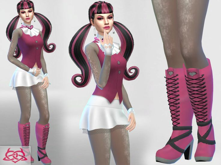 Sims 4 anime clothes