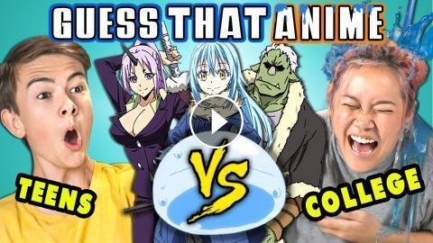 anime Teens react to