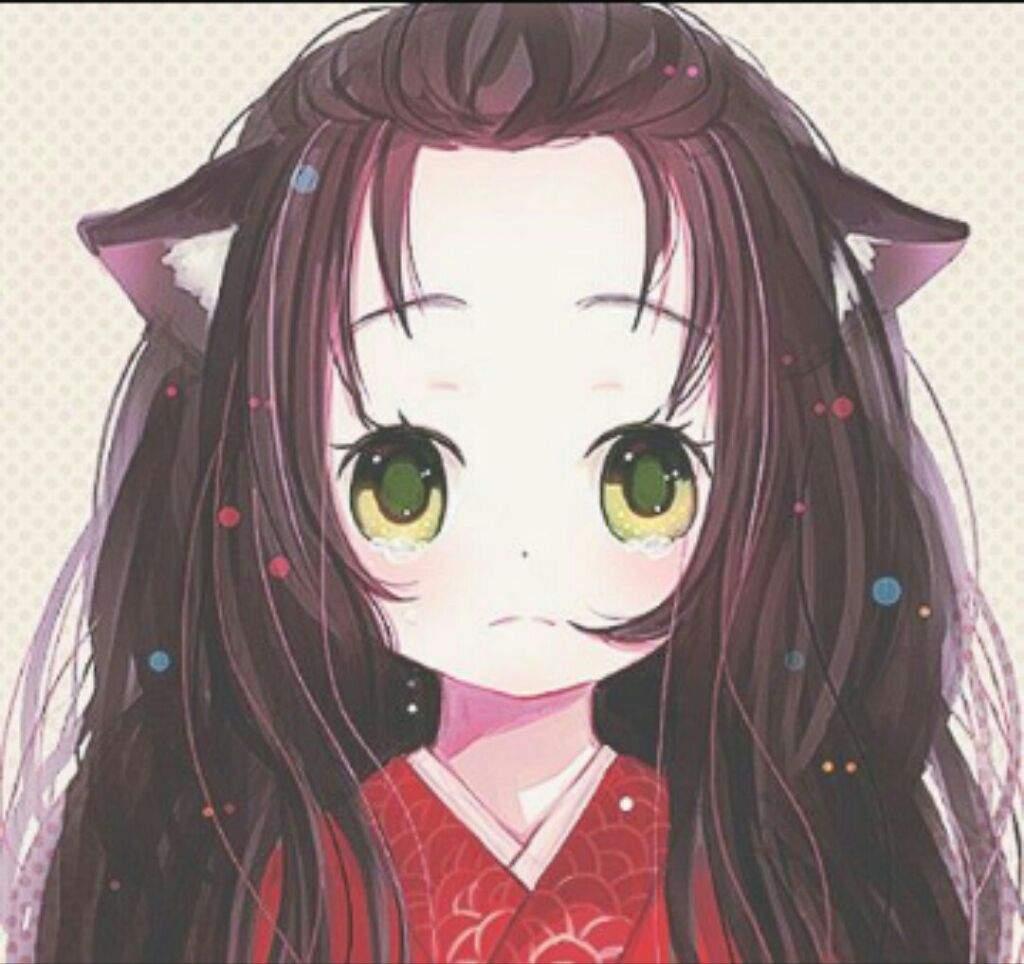 Cute anime cat ears