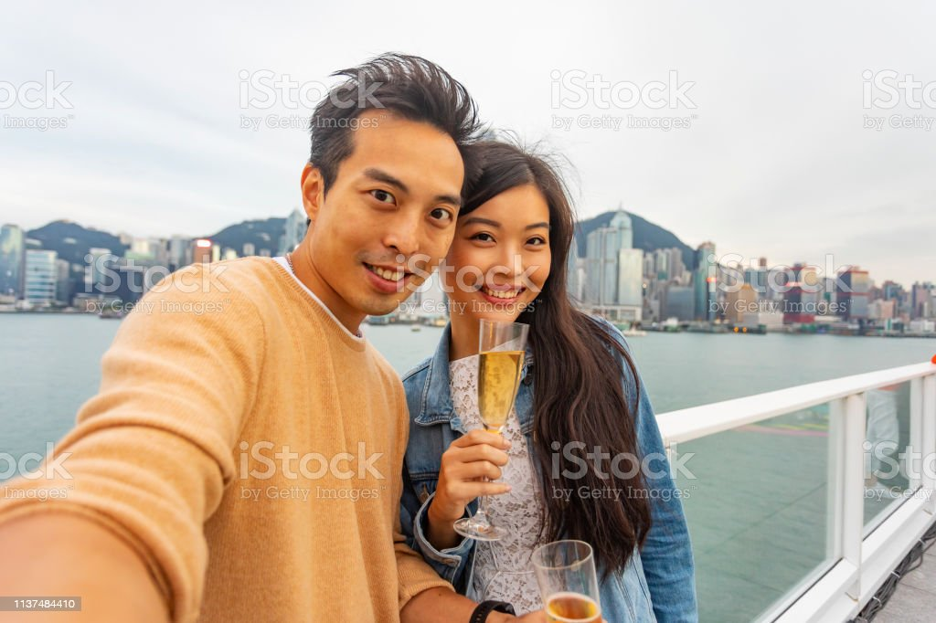 couple POV woman asian
