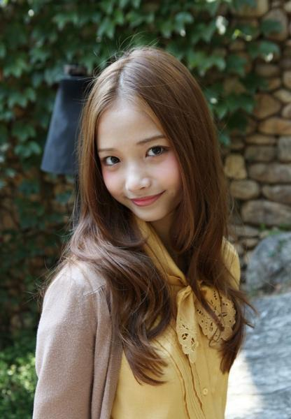 long cute sensual Asian hair
