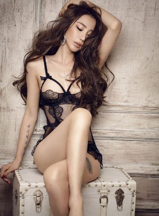 sensual asian dickforlily hair Long