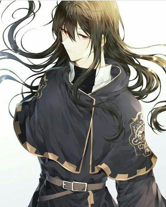 boy Black hair anime