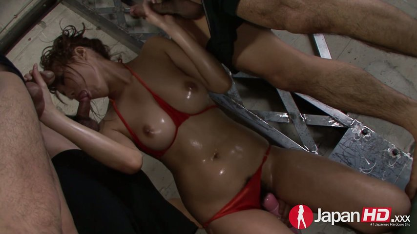 Asian sensual vibrator messy