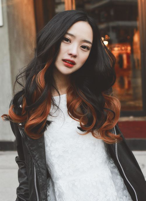 girl with long hair Chinese