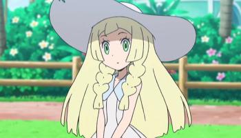 moon anime Lillie sun and