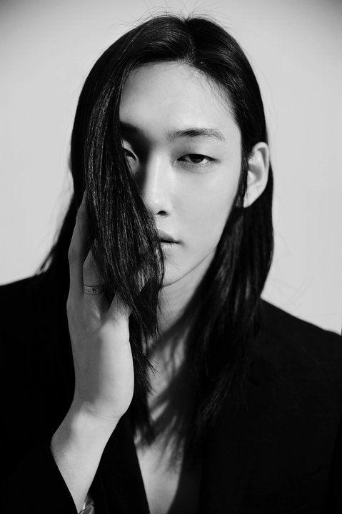 long asian Daddy hair