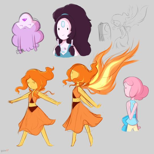 crossover anime Adventure time