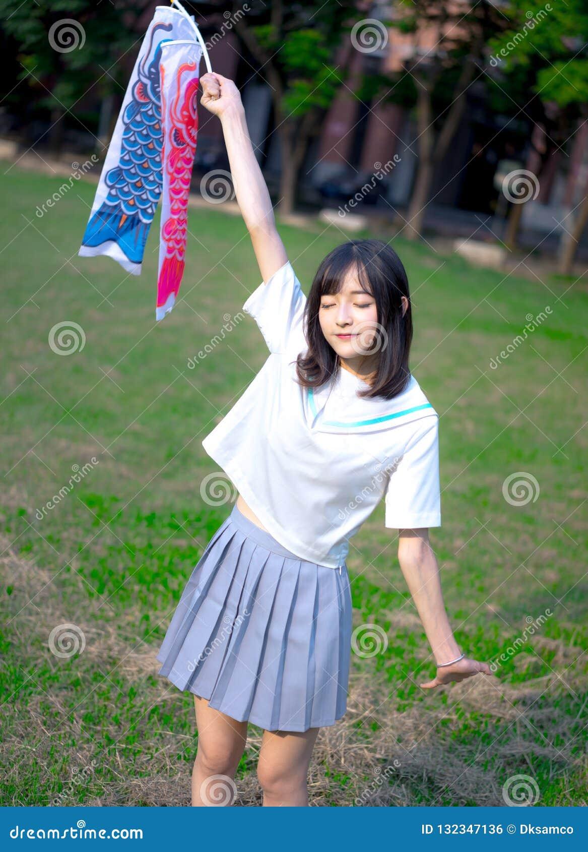 uniform outdoor Casting asian