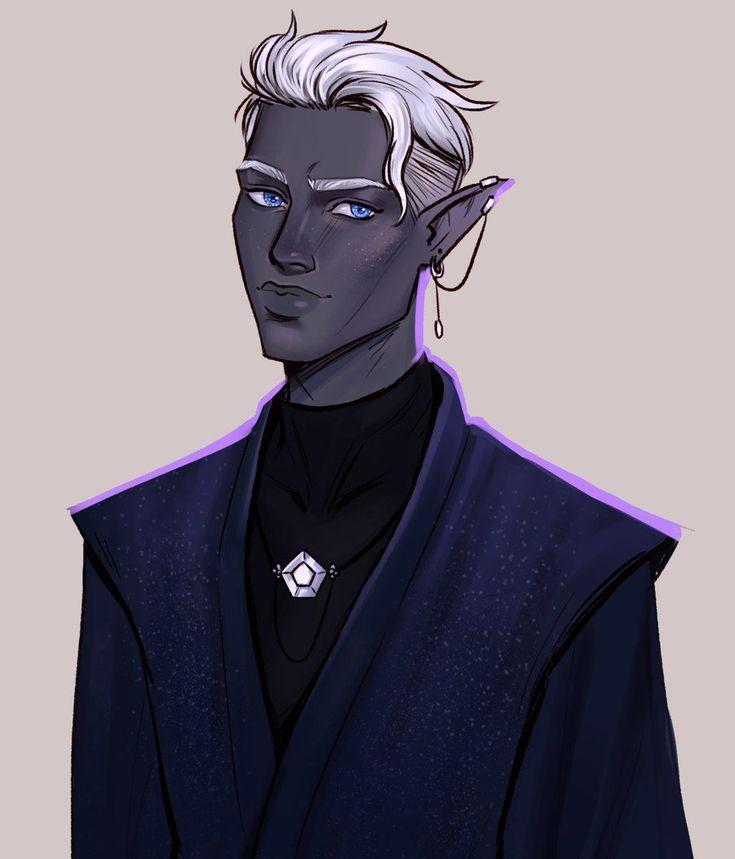 Anime dark elf male