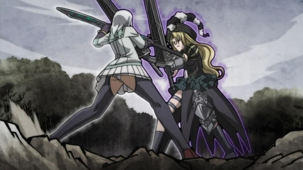 ryouran samurai anime Hyakka