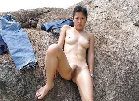 bikini Wife asian outdoor
