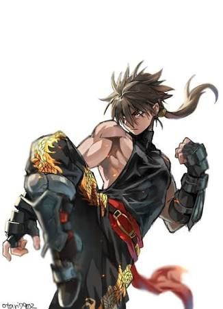girl martial artist Anime