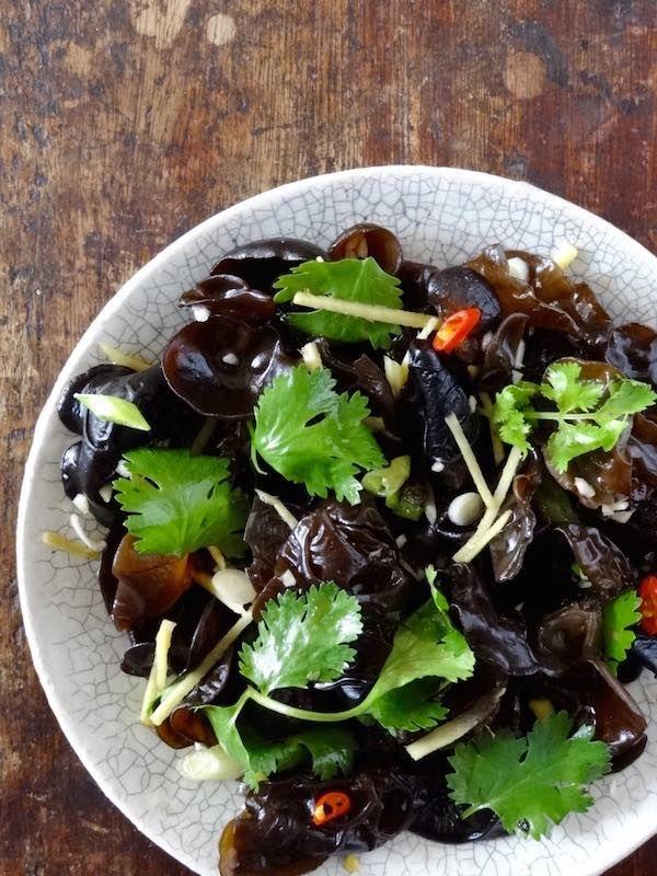 Dick mushroom chinese food