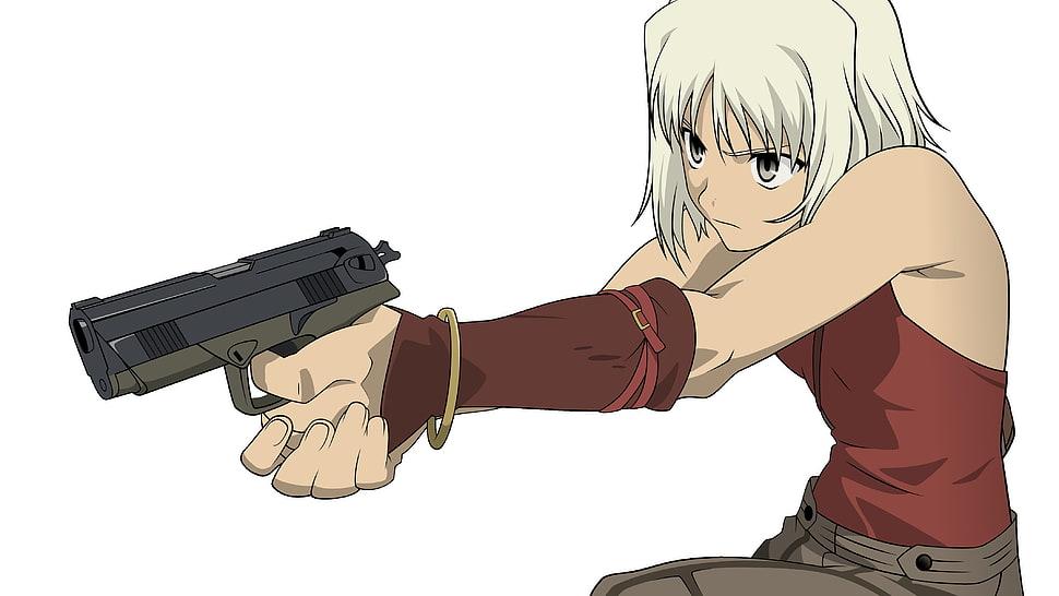 gun Anime with a