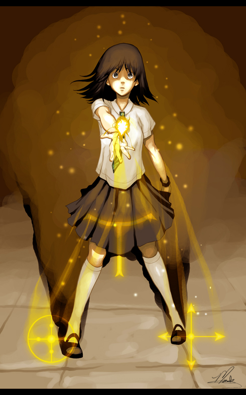 girl spell Anime casting