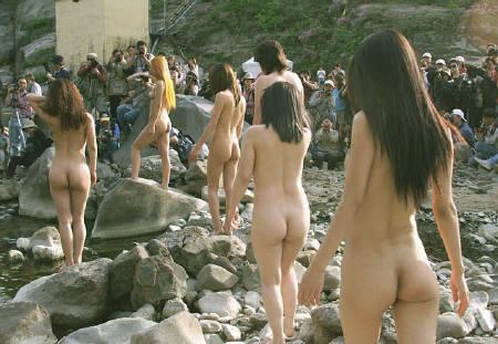 north girls Naked korean