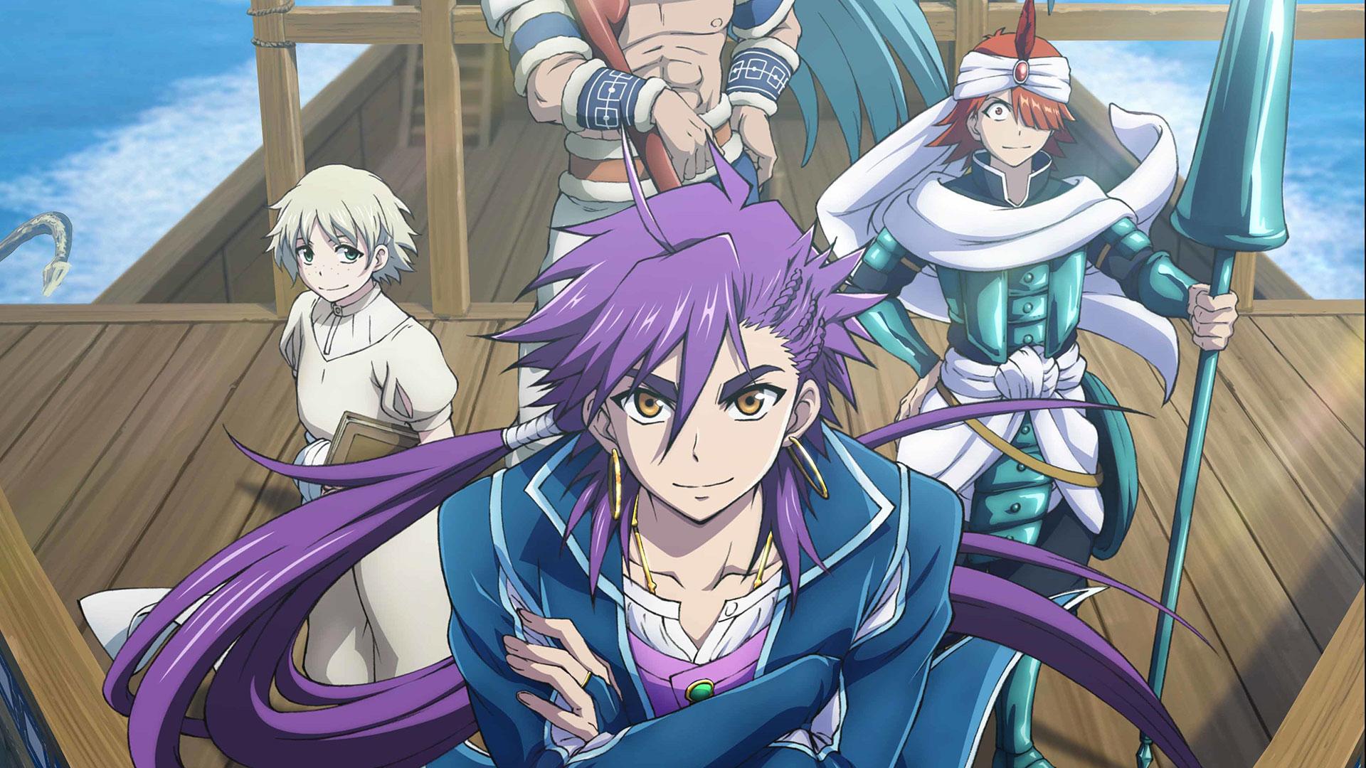 anime sinbad Adventures of