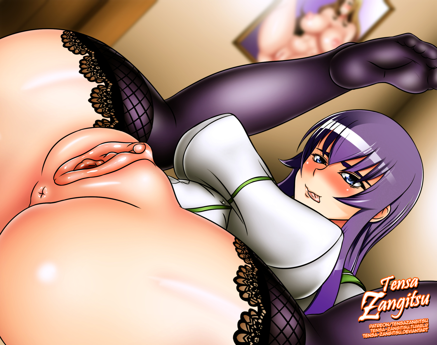 high Anime school sex