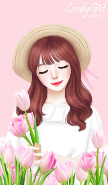 Anime cartoon girl images