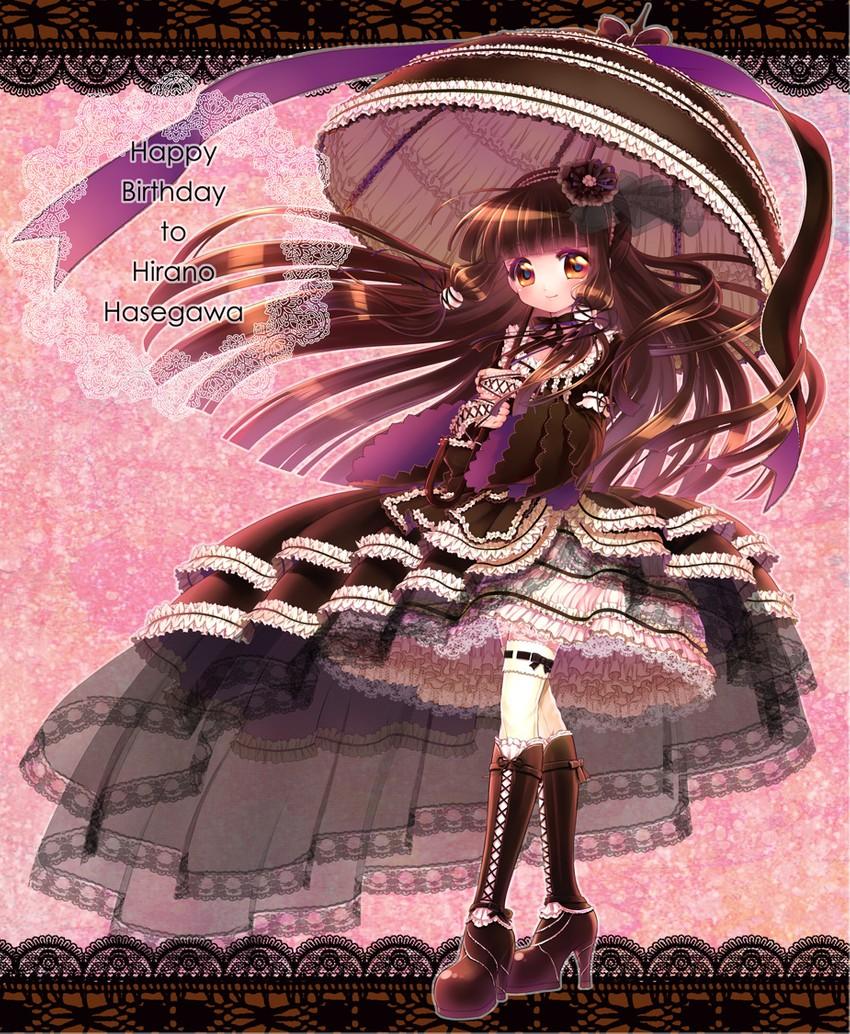 girl dress Anime frilly
