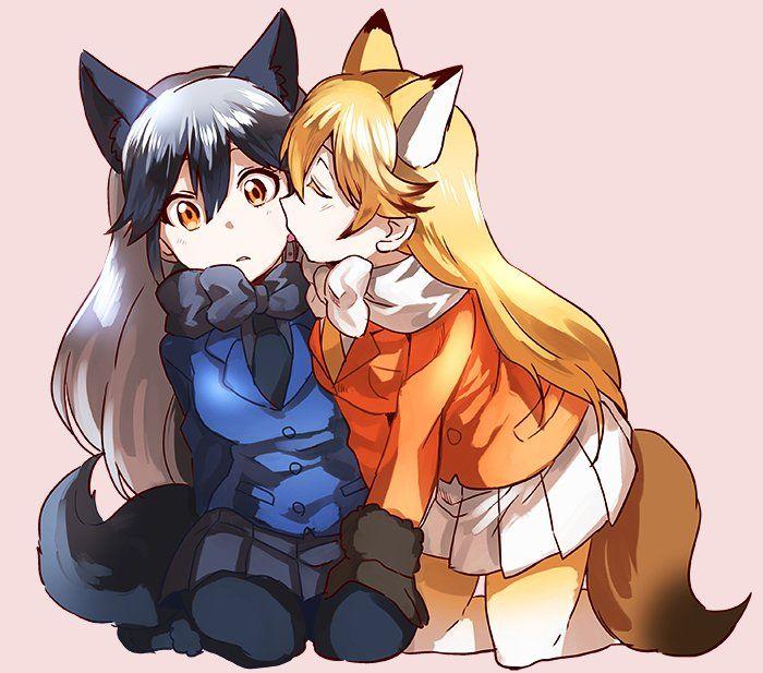 ears Anime wolf girls with
