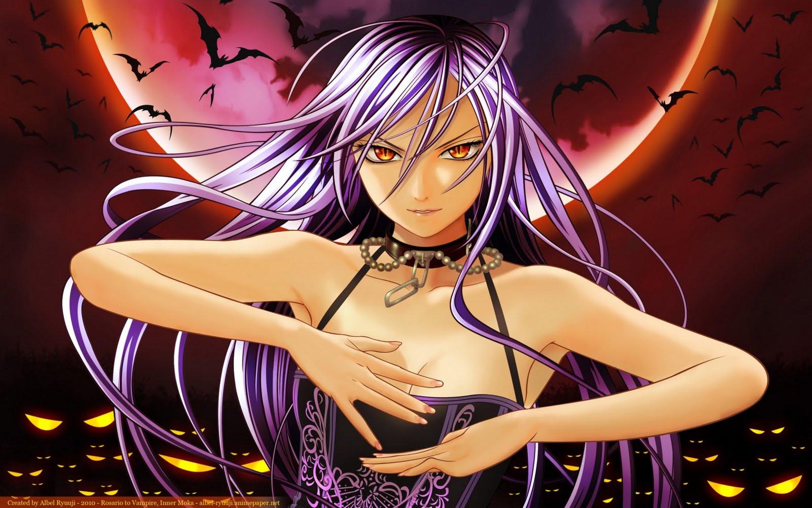 Anime like rosario to vampire