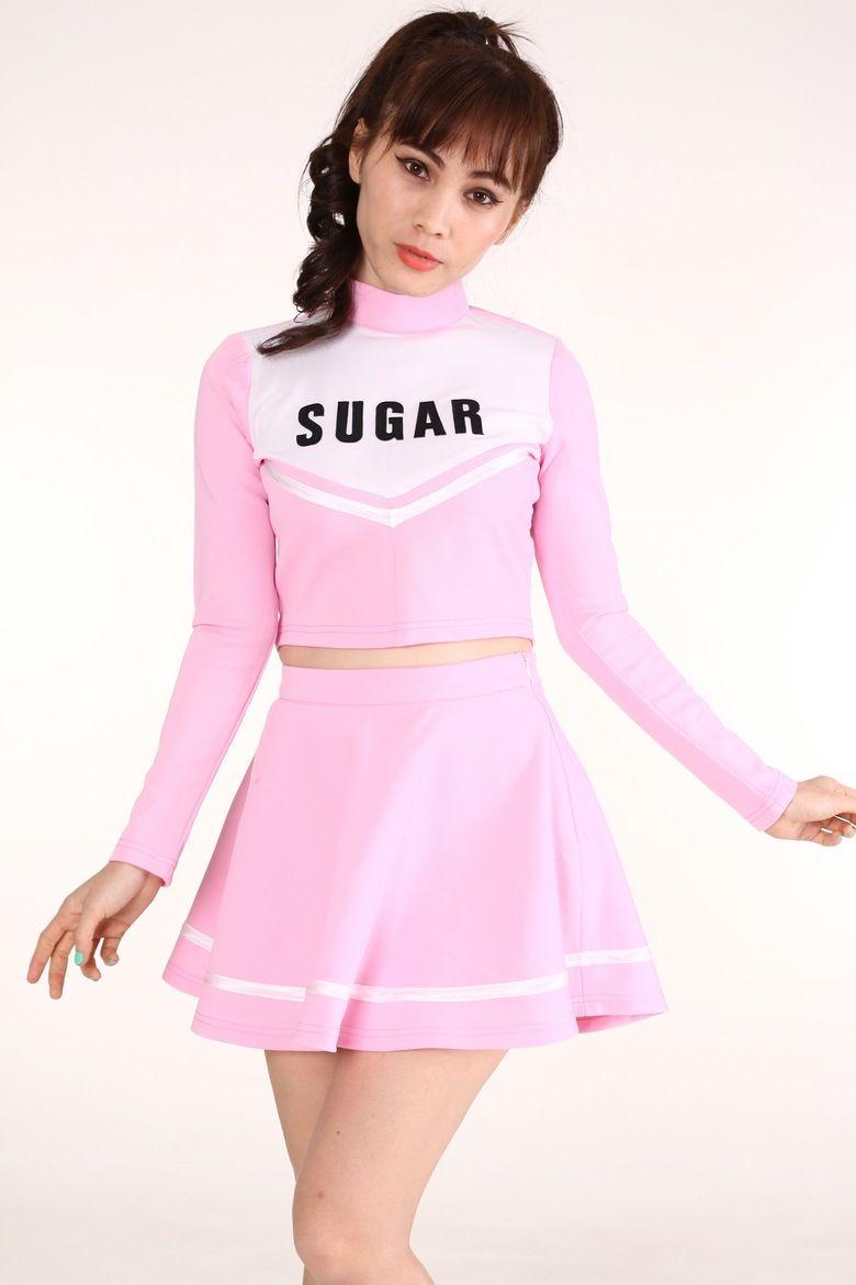 POV uniform Asian cheerleaders