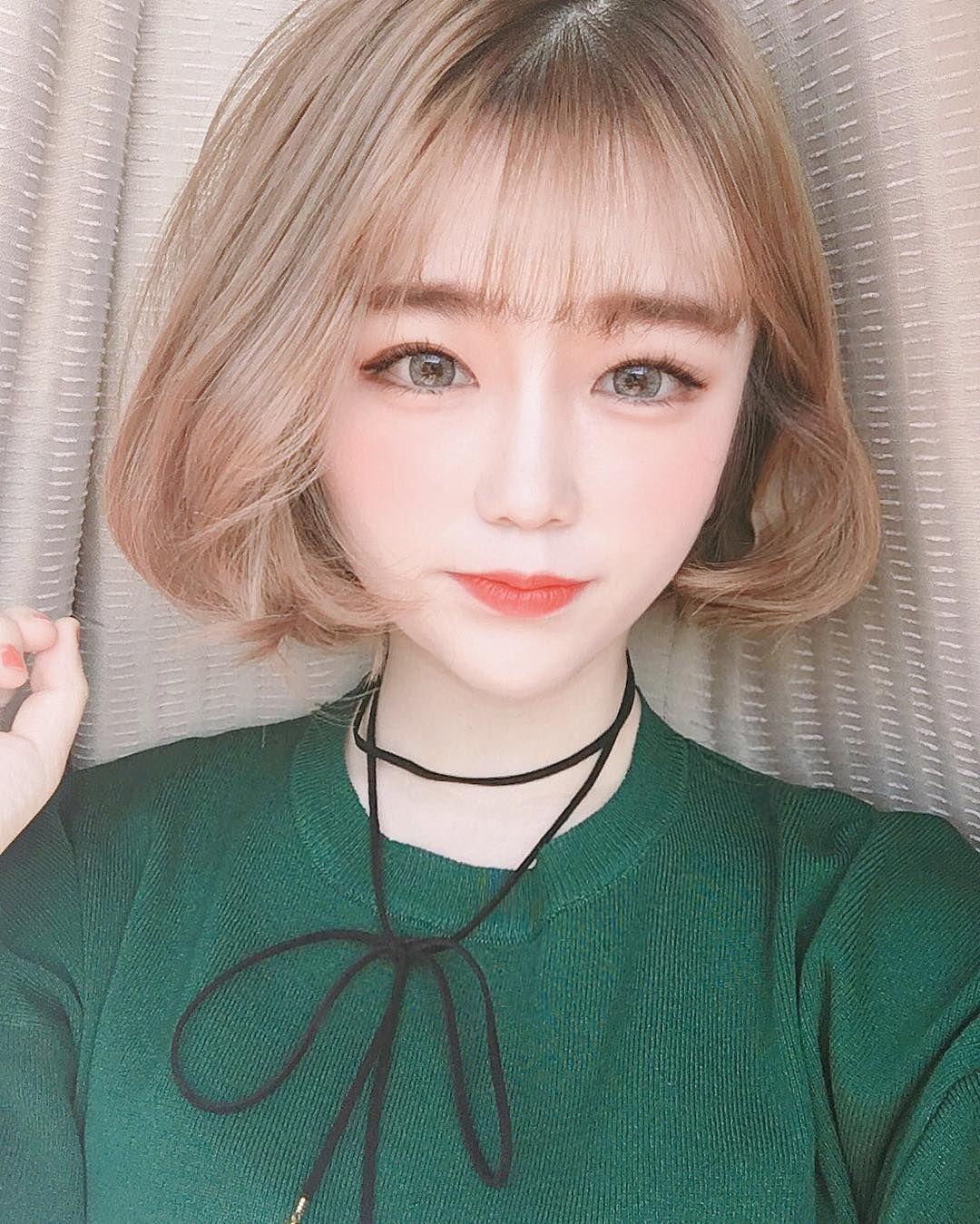 short otngagged watching hair Asian