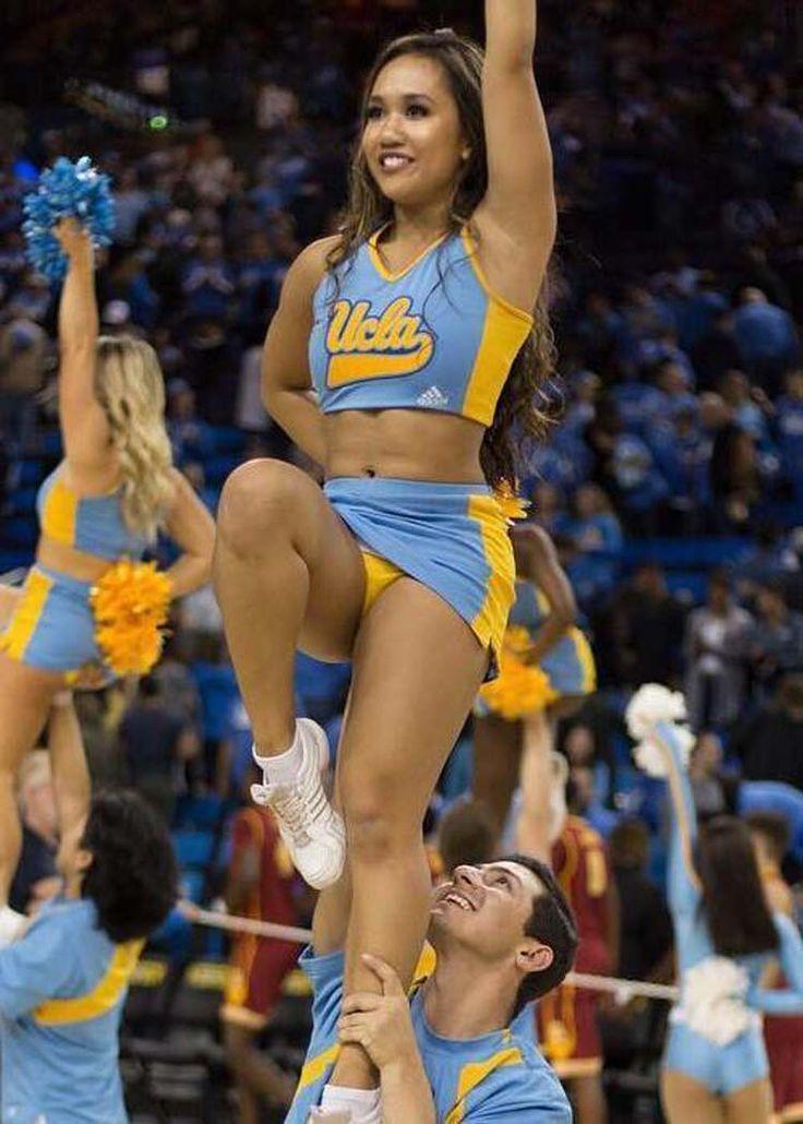 cheerleaders panties wet Asian