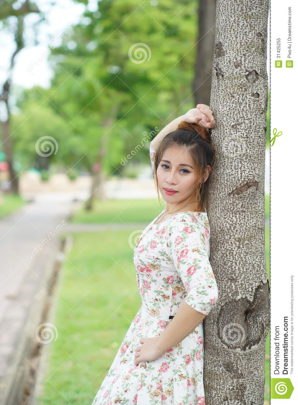 compilation outdoor young Asian