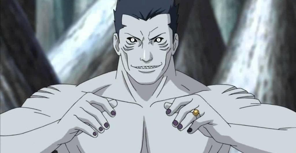 characters anime Blue skin