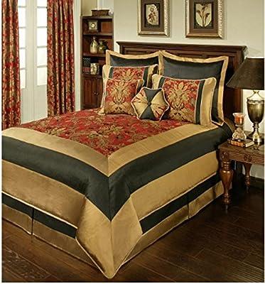 queen Baby velvet asian phat comforter black