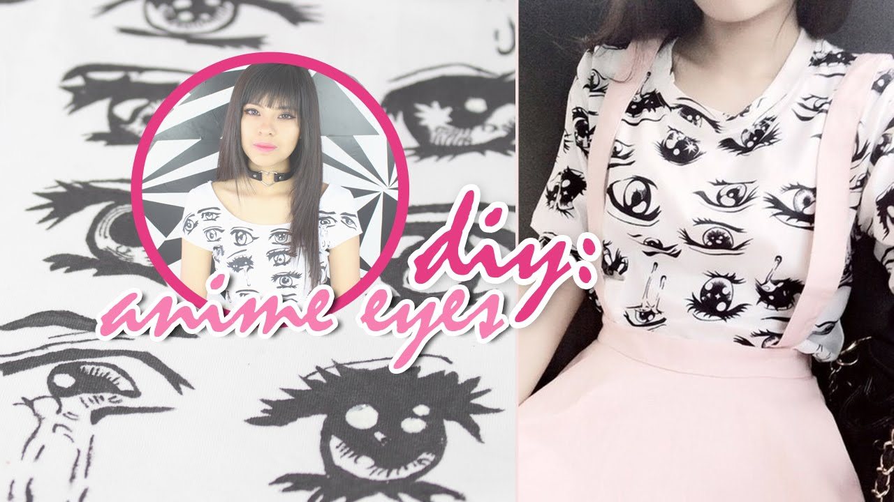 crop top eyes Anime