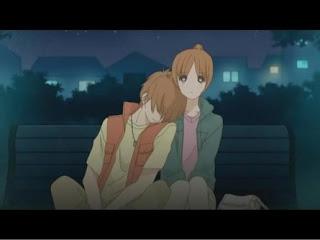 Anime girl holding her head